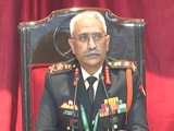"Video : ""Prepared To Hold Ground As Long As It Takes"": Army Chief On Ladakh Row"