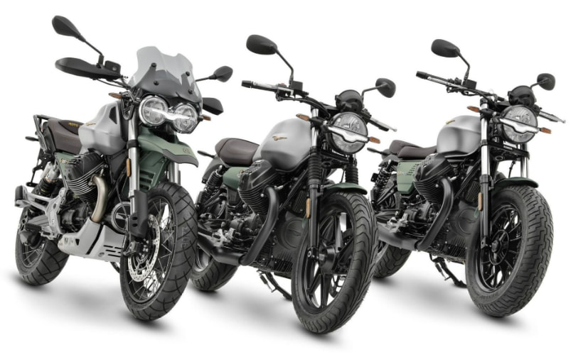 Moto Guzzi announces special edition models for 100th anniversary