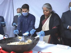 Ahead of Budget Presentation, Halwa Ceremony Held At Finance Ministry