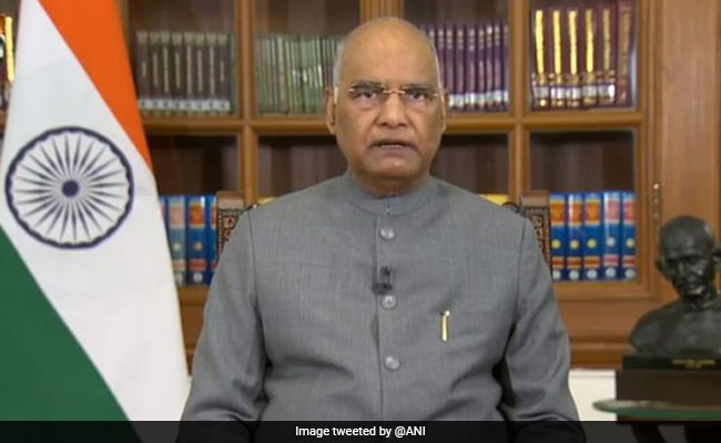 'You'll Make Country Proud': President Ram Nath Kovind Wishes Indian Olympic Contingent