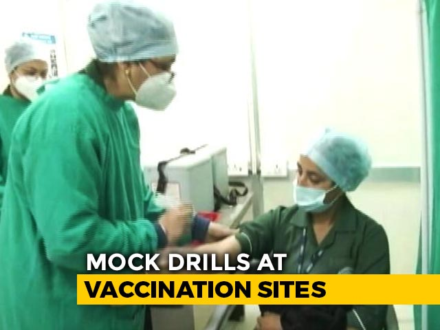 Video : As India Waits For Covid-19 Vaccine, All States Start Dry Run