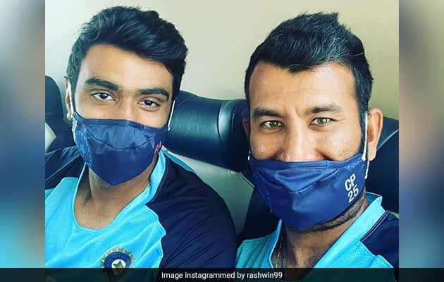 Ashwin Promises To Shave Half His Moustache If Pujara Does This