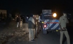 15 Labourers Sleeping Near Road Crushed Under Truck In Gujarat
