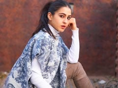 Sara Ali Khan In A Statement Dior Poncho Takes Over Winter Fashion