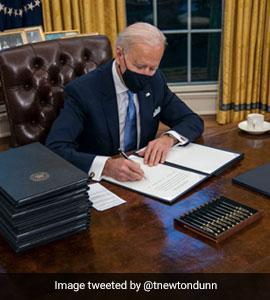 US President Joe Biden Removes Trump's 'Diet Coke' Button. Twitter Reacts