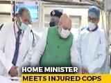 Video : Delhi Violence: Amit Shah Meets Injured Cops At Delhi Hospitals