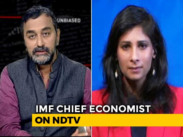 Video : 11.5% Projected Growth Doesn't Reveal Informal Sector Distress: Gita Gopinath