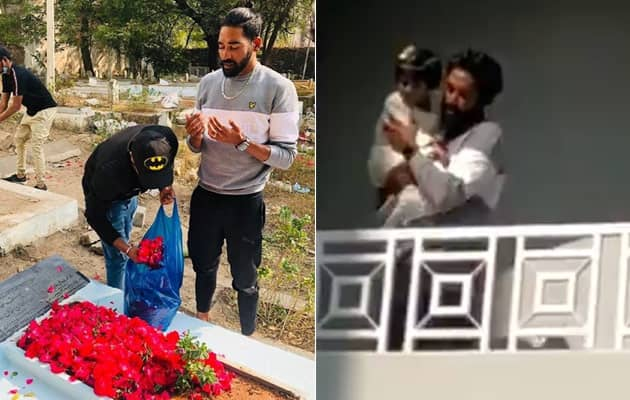 Mohammed Siraj Goes To Fathers Grave Right After Returning Home