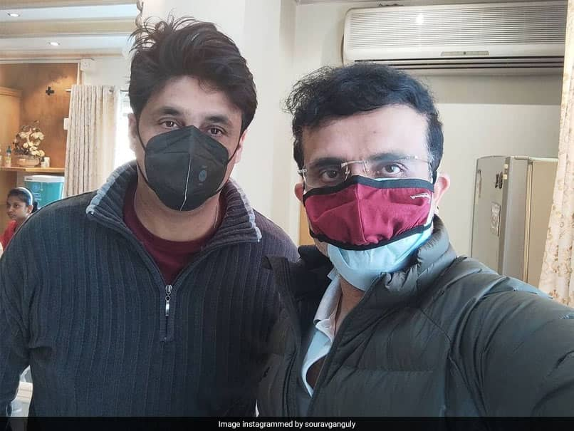 """Sourav Ganguly Thanks Friend Joydeep, Says """"Will Remember For Life"""" What You Have Done For Me"""