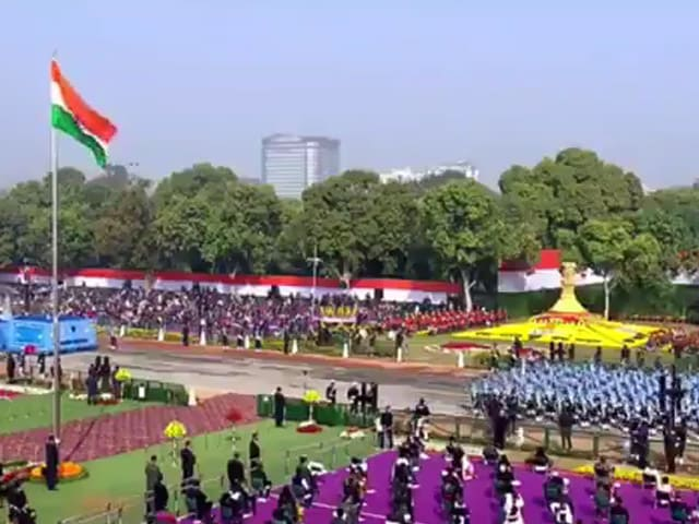 Video : India Shows Cultural Diversity In Republic Day Parade