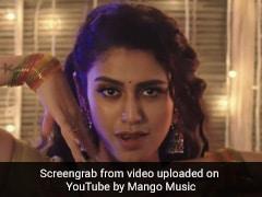 Priya Prakash Varrier का 'लाडी लाडी' सॉन्ग हुआ रिलीज, Video में डांस करती नजर आईं एक्ट्रेस