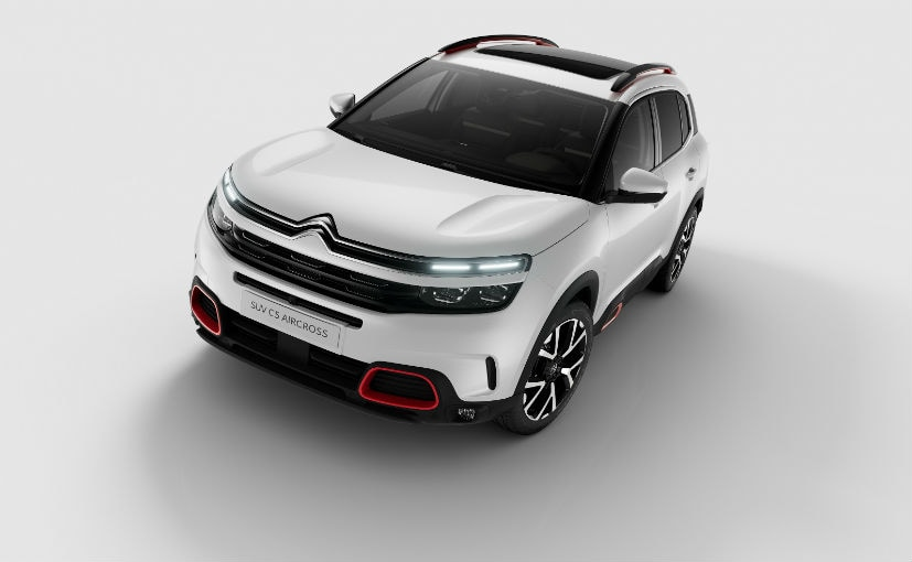 The C5 AirCross SUV will be launched in India in Q1 2021