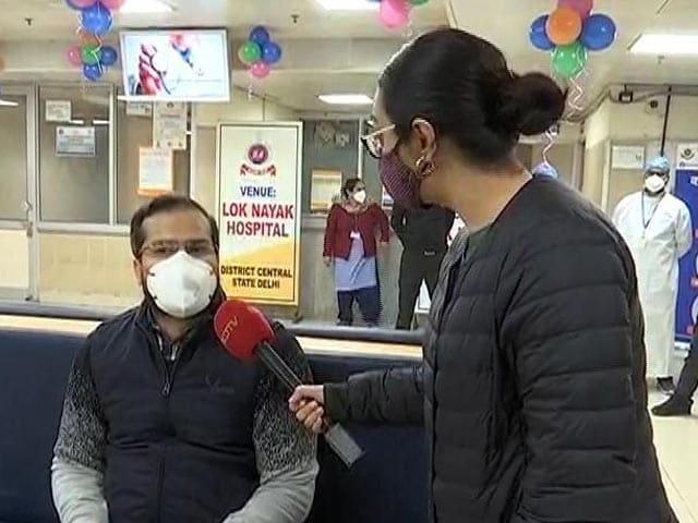 "Video : ""Excited, Hopeful"": Delhi Doctors On Taking Covid Shot"
