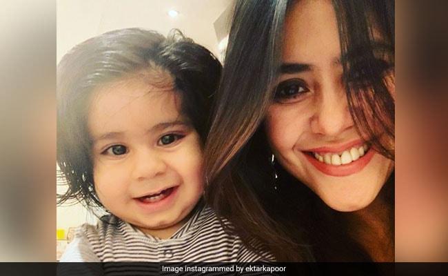 Birthday Boy Ravie, All Of 2, Is Mom Ekta Kapoor's 'Turning Point Gift'