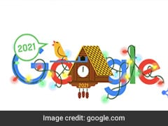 """Time Has Come..."": Google's ""Cuckoo Clock"" Welcomes Year 2021"