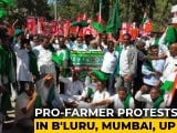 Video : Thousands March In Bengaluru To Support Farmers' Demand To Scrap Laws