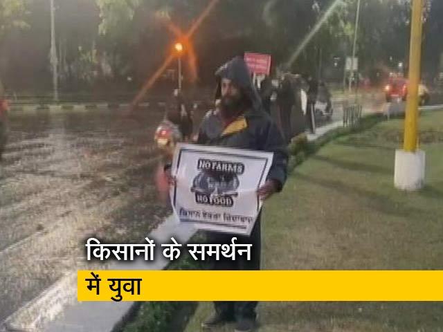 Videos : इस तरह किसानों का समर्थन कर रहे चंडीगढ़ के युवा