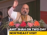 "Video : ""Only BJP Can...."": Amit Shah Says Bodoland Win A Trailer For Assam Polls"