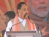 Video : A Month After Convoy Attack, JP Nadda Back In West Bengal To Meet Farmers