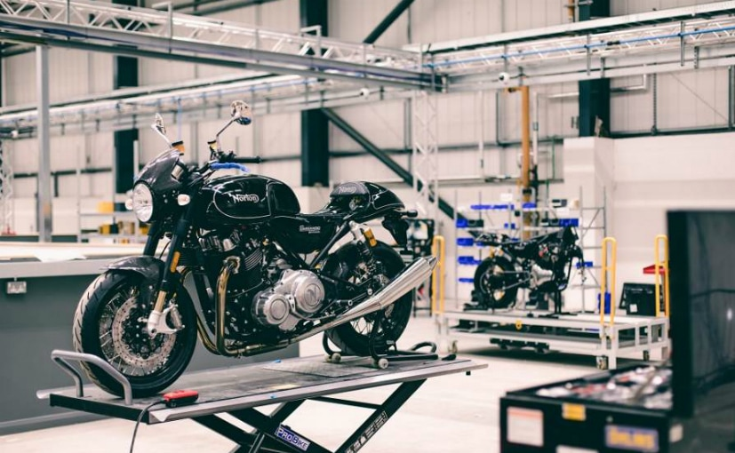 Norton's new headquarters is almost ready to manufacture bikes
