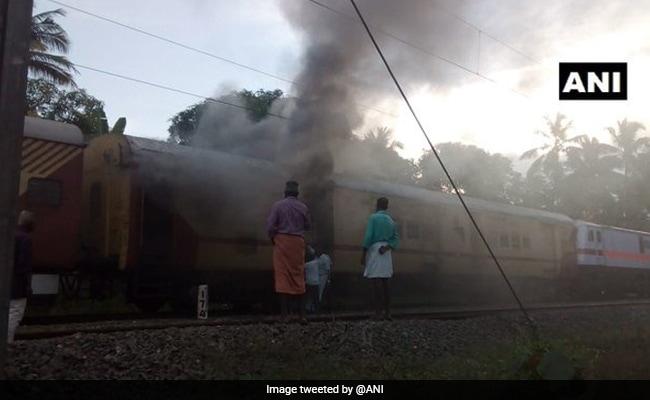 Fire In Parcel Van Of Malabar Express In Kerala, None Injured