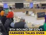 "Video : ""120% Fail"" Says Farmer Leader After 9th Round Of Talks With Centre"