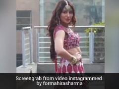 बिग बॉस 13 की माहिरा शर्मा ने दुल्हन बन कराया Photoshoot, यूं शर्माते हुए दिया पोज- देखें Video