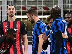 """You Little Donkey"": Zlatan Ibrahimovic, Romelu Lukaku In Heated Spat In Milan Derby"