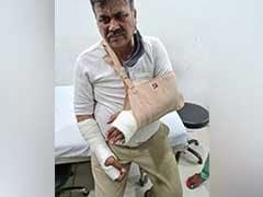 हिंसा में घायल हुए SHO ने सुनाई आपबीती, कहा-किसानों के पास थे हथियार
