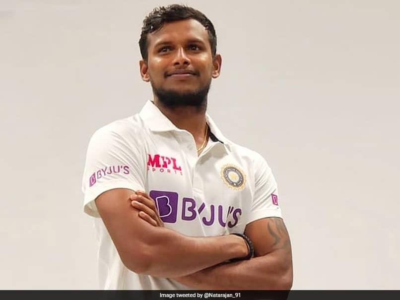 Australia vs India: T Natarajan Awaits Next Challenge As He Wears India Test Jersey