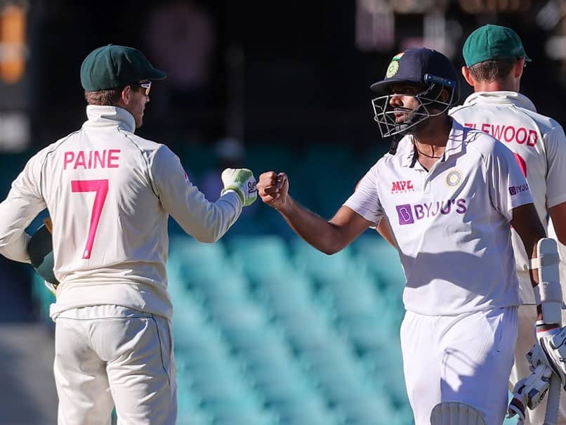"""Good Evening From The Gabba"": Ravichandran Ashwin Has Last Laugh In Banter With Tim Paine"