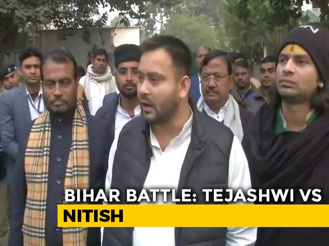 "Video : ""Why Shouldn't People Speak Up"": Tejashwi Yadav Slams Nitish Kumar"