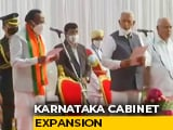 Video : As BS Yediyurappa Expands Karnataka Cabinet, 7 Ministers Take Oath