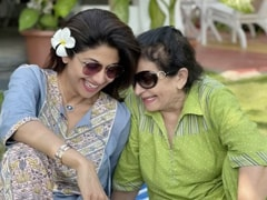 "Nothing To See Here. Just Shilpa Shetty And Her Mother-In-Law ""Gossiping"" About Raj Kundra"