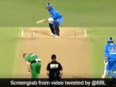 BBL 2020: राशिद खान ने खेला अजीबोगरीब शॉट, बाहर जाती गेंद पर ऐसे घुमाया बल्ला - देखें Video