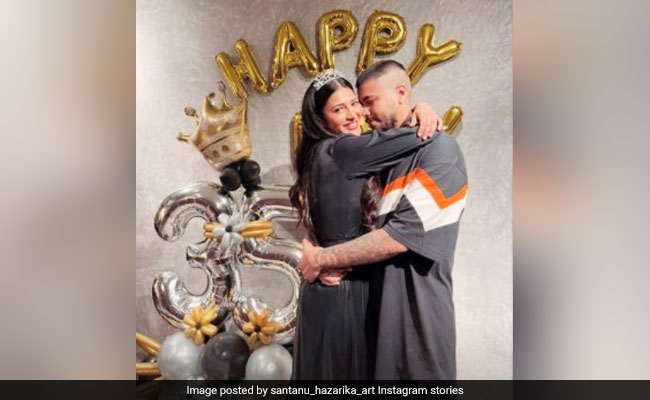 Shruti Haasan's Boyfriend Wished Her On Birthday With A Loved-Up Pic