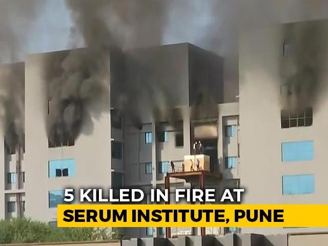 Video : After 5 Die, Another Fire At Serum Institute Reported, Under Control Now