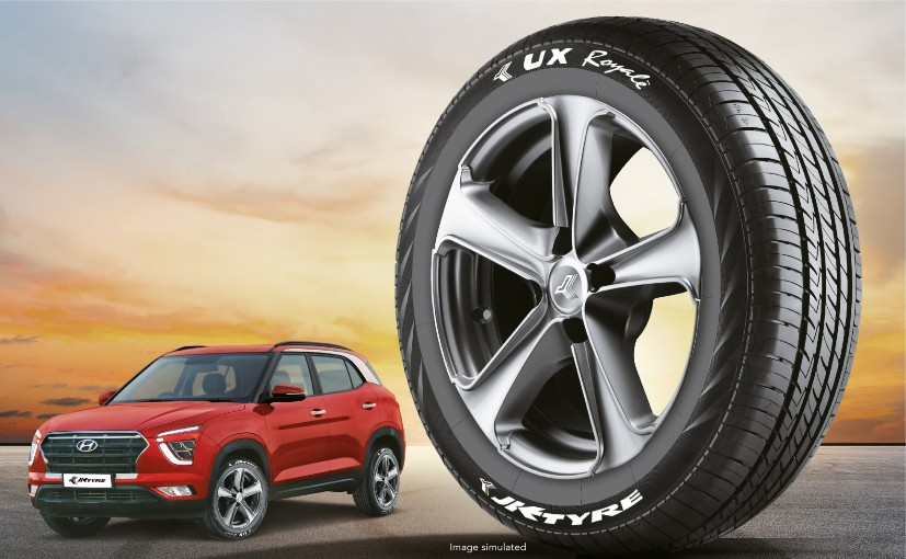 JK Tyre is supplying the UX Royale 215/60 R17 radial tyre for the Creta.