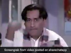 धोनी बन गए 'किशोर दा' और विराट बने 'सुनील दत्त', वायरल हो रहा है फनी Video