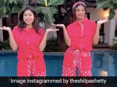 Twinning In Bright Loungewear, Shilpa And Shamita Shetty Set Sibling Goals