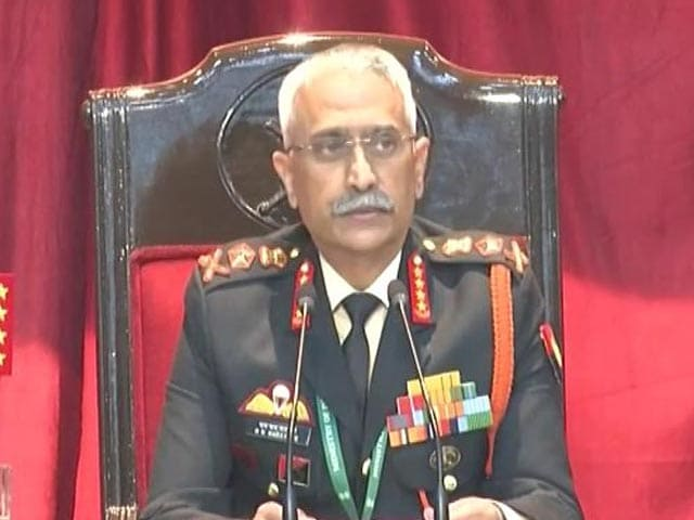 """Video : """"Prepared To Hold Ground As Long As It Takes"""": Army Chief On Ladakh Row"""