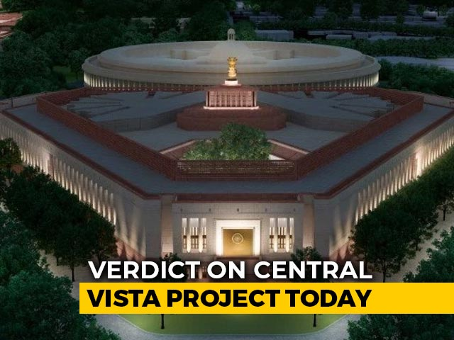 Video : Top Court Verdict On Central Vista Project Today