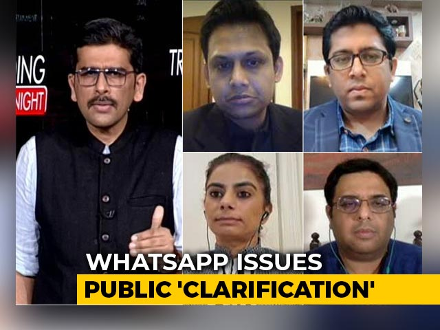 Video : Can WhatsApp's Clarification On Privacy Policy Be Believed?