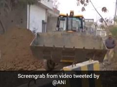 Roadblocks, More Cops At Farmers' Main Camp At Singhu Near Delhi