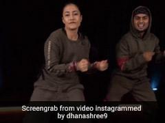 धनाश्री वर्मा ने 'जलेबी बेबी' सॉन्ग पर किया जबरदस्त डांस, वायरल हुआ Video