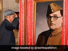 Neta-<i>Ji</i> Or Actor Who Played Him? Row Over Rashtrapati Bhawan Portrait