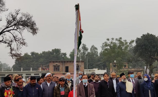 Ayodhya Mosque Work Starts On Republic Day With Tricolour Hoisting