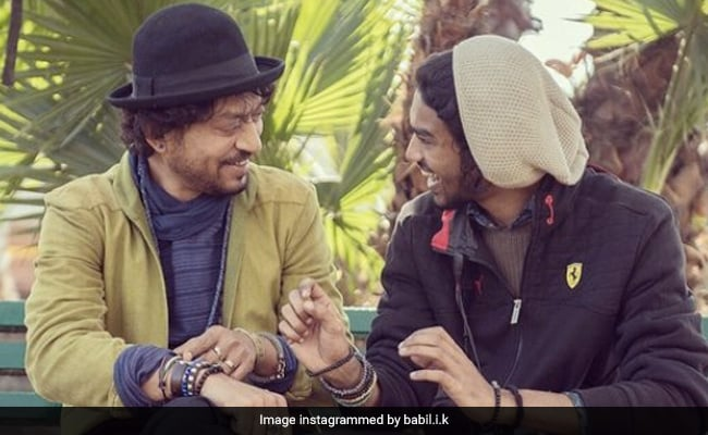 On Irrfan Khan's Birth Anniversary, What Son Babil Shared. It's OK To Cry