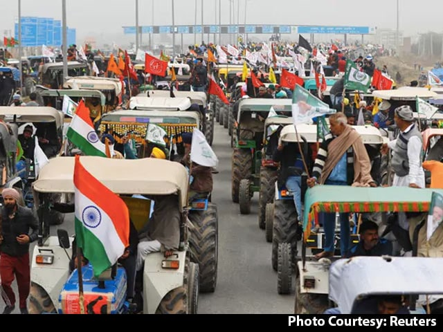 Video : 300 Pak Twitter Handles Created To Disrupt Tractor Rally: Police