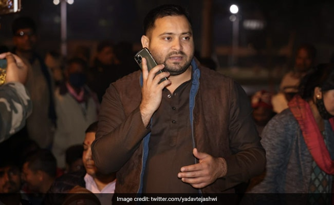 'This Is Tejashwi Yadav Speaking'. A Phone Call In Bihar Goes Viral